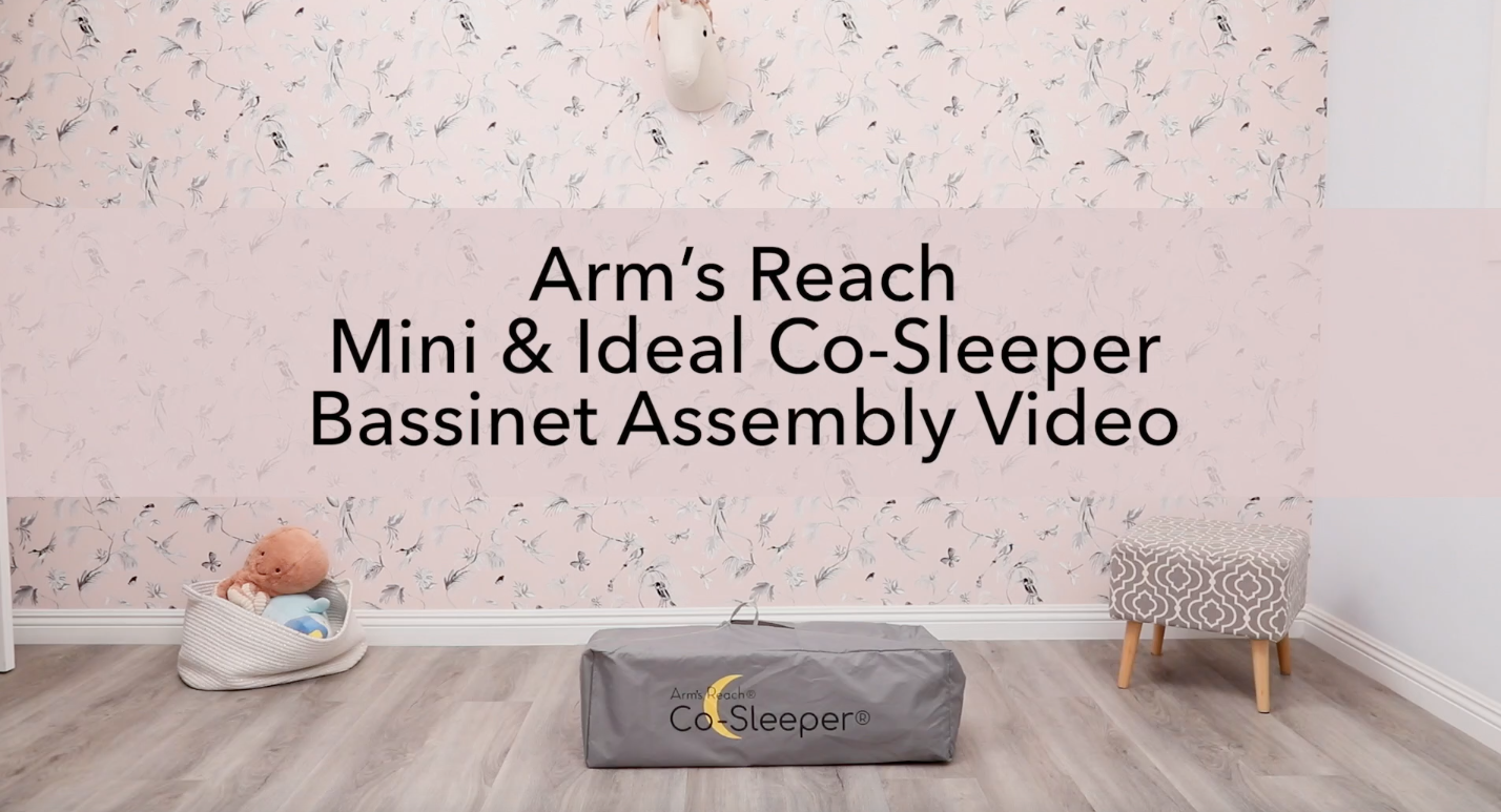 Assembly Video for the Mini & Ideal Co-Sleeper Bassinets