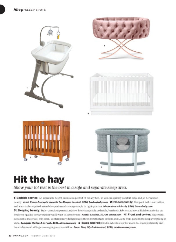 Pregnancy & Newborn Magazine features our Versatile!