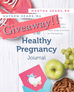Healthy Pregnancy Journal Giveaway