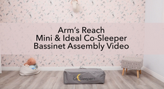 Arm's Reach Mini & Ideal Co-Sleeper bassinet assembly video