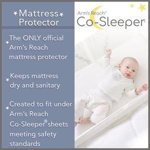 MATTRESS PROTECTOR- MINI, CLEAR-VUE, CAMBRIA