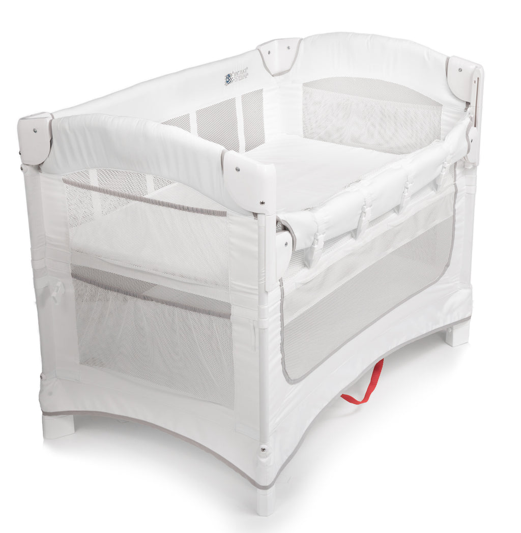 Arm's Reach IDEAL co-sleeper bassinet white