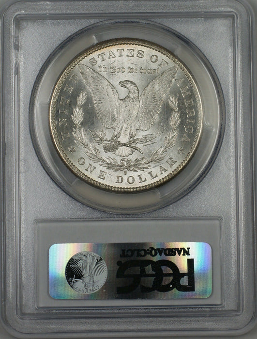 1881-S Morgan Silver Dollar $1 Coin PCGS MS-63 Toned (Tb)