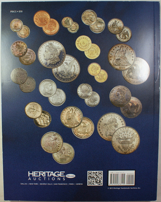 April 24-27 2013 U.S. Coin Auction Catalog #1184 Heritage (A79)