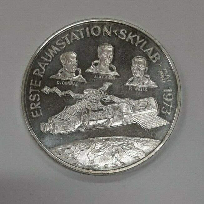 America in Space: Skylab I (2)  .999 Silver 1973 Space Station Mission Medal