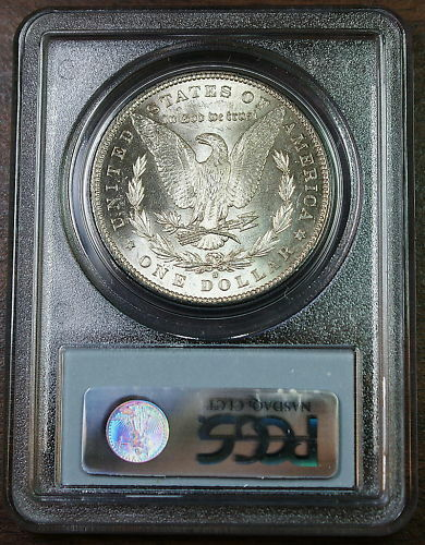 1882-S Morgan Silver Dollar Coin, PCGS MS-64