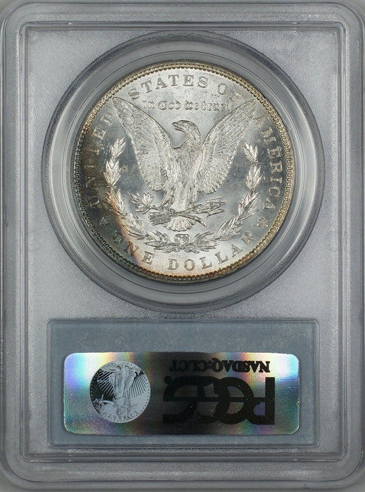 1887 Morgan Silver Dollar $1 PCGS MS-62 Toned Rim (Better Coin) (3E)