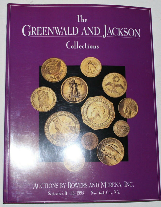 Greenwald & Jackson Collections 1995 NY Bowers & Merena Auction Catalog WW3A3