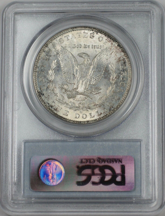 1902-O Morgan Silver Dollar $1 Coin PCGS MS-63 Lightly Toned (BR-25 K)