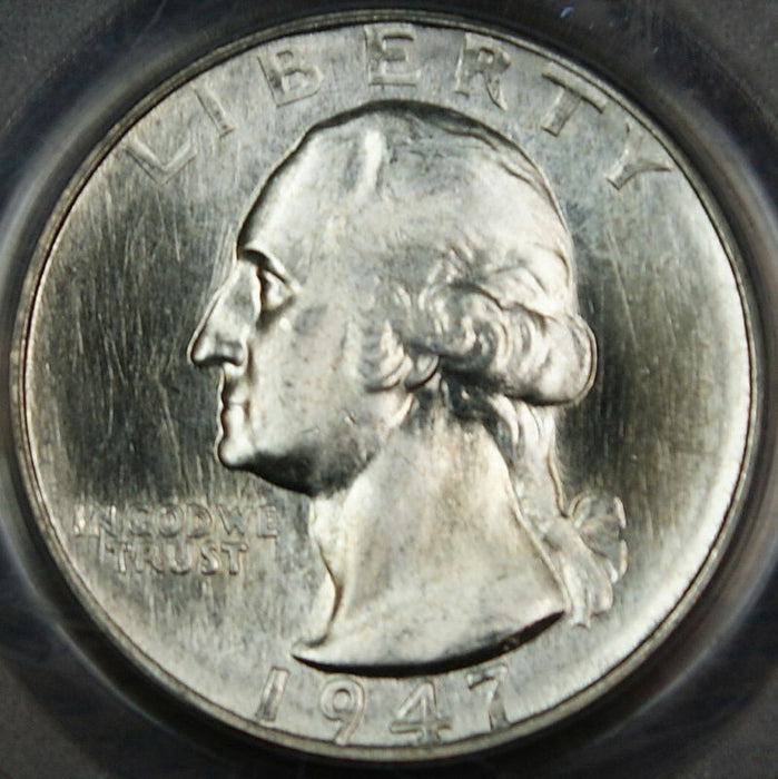 1947-S Washington Quarter, PCGS MS-65 **PROOFLIKE**