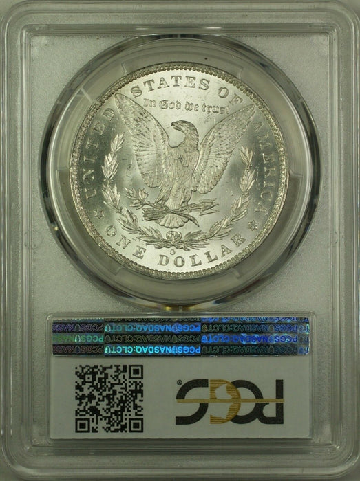 1885-O Morgan Silver Dollar $1 Coin PCGS MS-63 (5N)