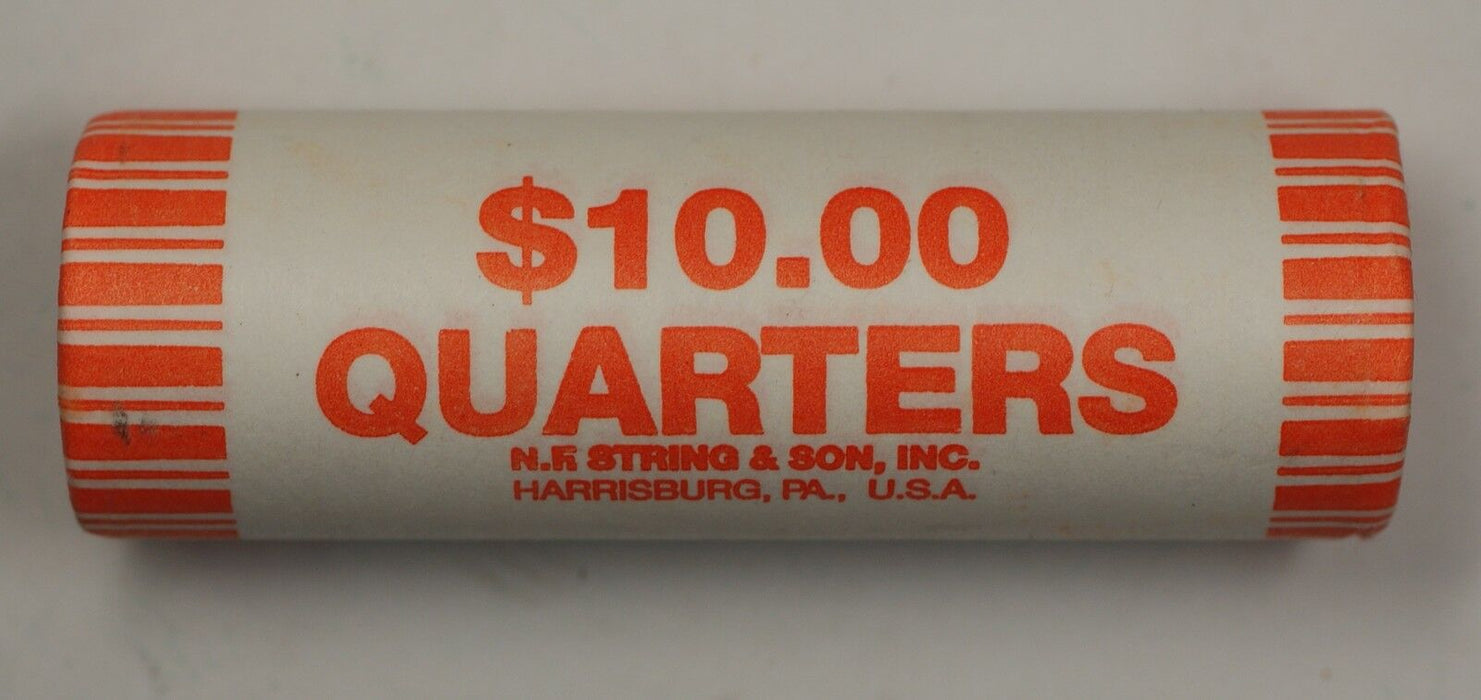 2007 P Idaho State Quarter BU Machine Wrapped Roll- 40 Coins- Sealed