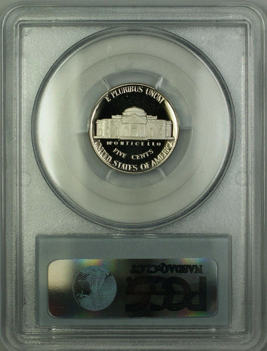 1997-S Proof Jefferson Nickel 5c Coin PCGS PR-70 Deep Cameo *PERFECT GEM*