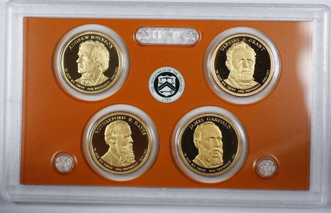 2011 United States Presidential Proof Set With Box and COA