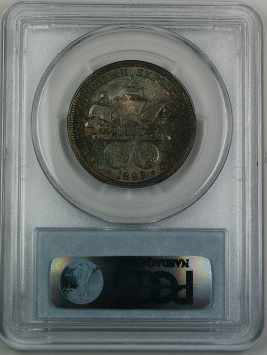 1893 Columbian Silver Half Dollar, PCGS MS-65 *Toned* Commemorative Coin