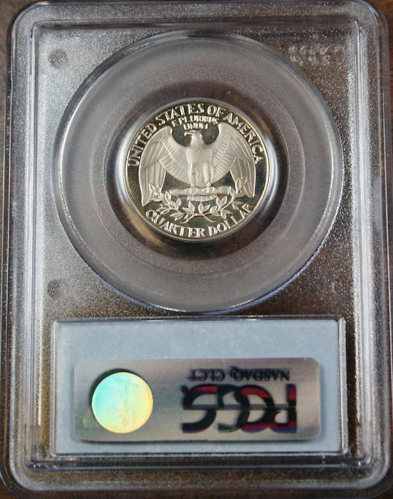 1983-S Proof Washington Quarter, PCGS PR-67 DCAM