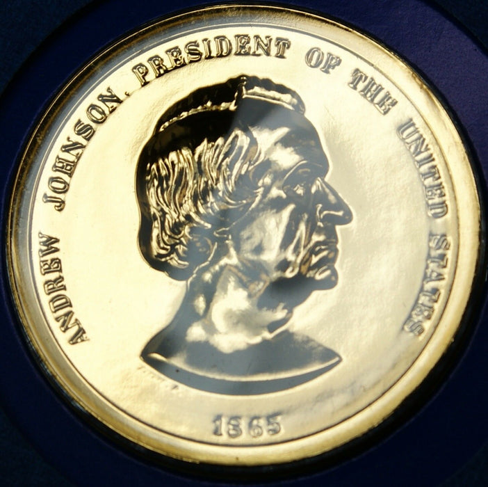 "Andrew Johnson Presidential Medal, From the ""Hail to The Chiefs"" Collection"