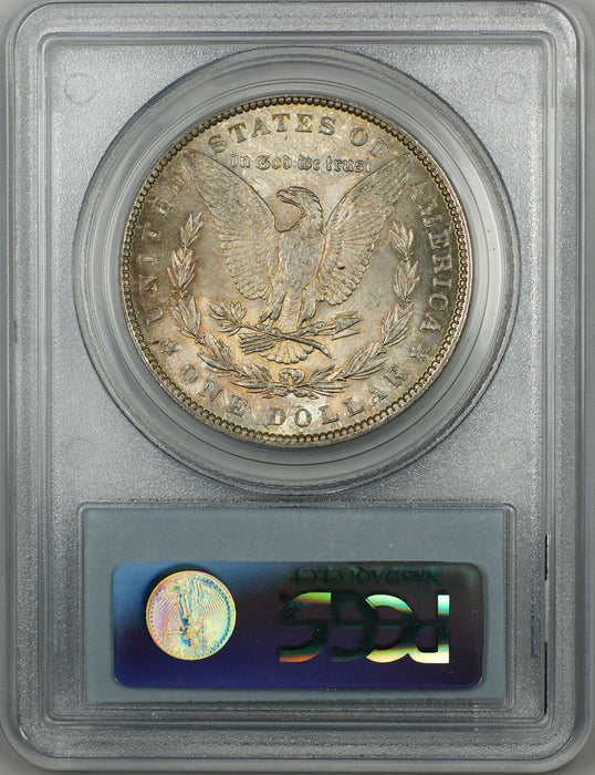 1889 Morgan Silver Dollar $1 Coin PCGS MS-63 Toned (BR-22 G)