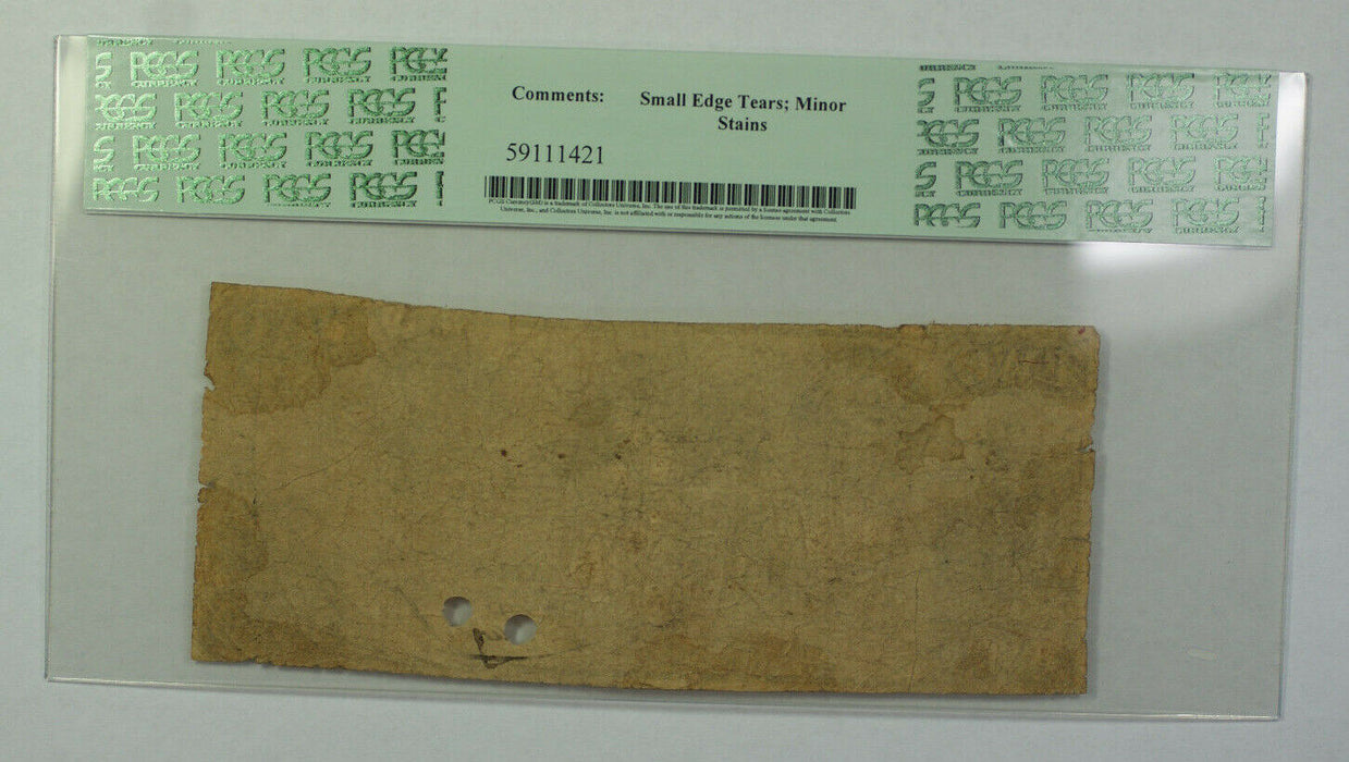 May 16th 1837 $2 Obsolete Currency Baltimore MD PCGS VG-10 Hole Punch Cancelled