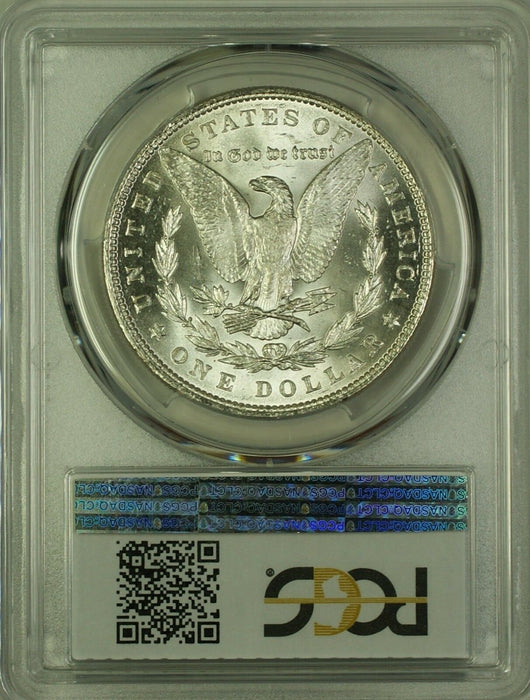 1886 Morgan Silver Dollar $1 Coin PCGS MS-62 (19F)
