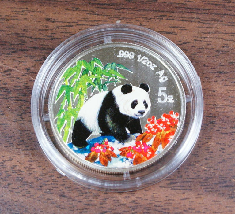 1997 5 Yuan Colorized Silver Proof Coin, W/COA,