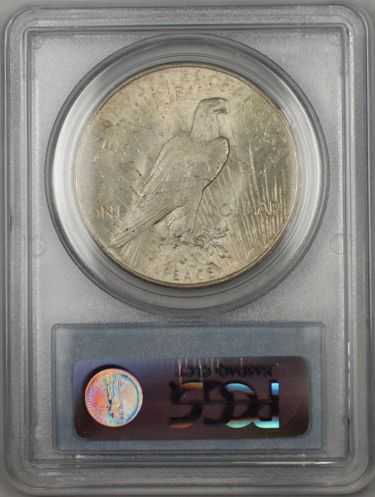 1922 Silver Peace Dollar $1 Coin PCGS MS-64 (BR 11G) Lightly Toned
