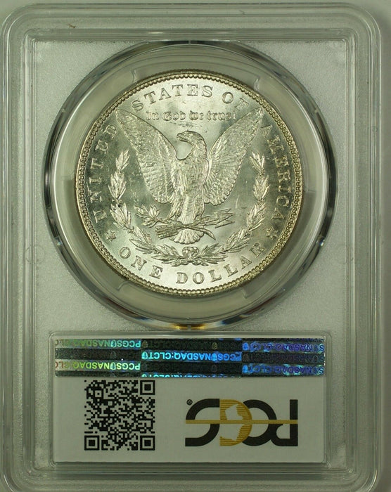 1887 Morgan Silver Dollar $1 Coin PCGS MS-62 (19J)