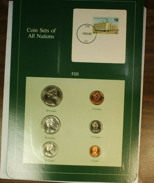 Coin Sets of All Nations Republic of Finland UNC 6 Coins BU