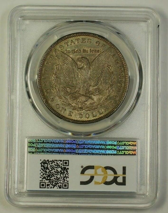 1885 Morgan Silver Dollar Coin $1 PCGS MS-62 Toned (18)