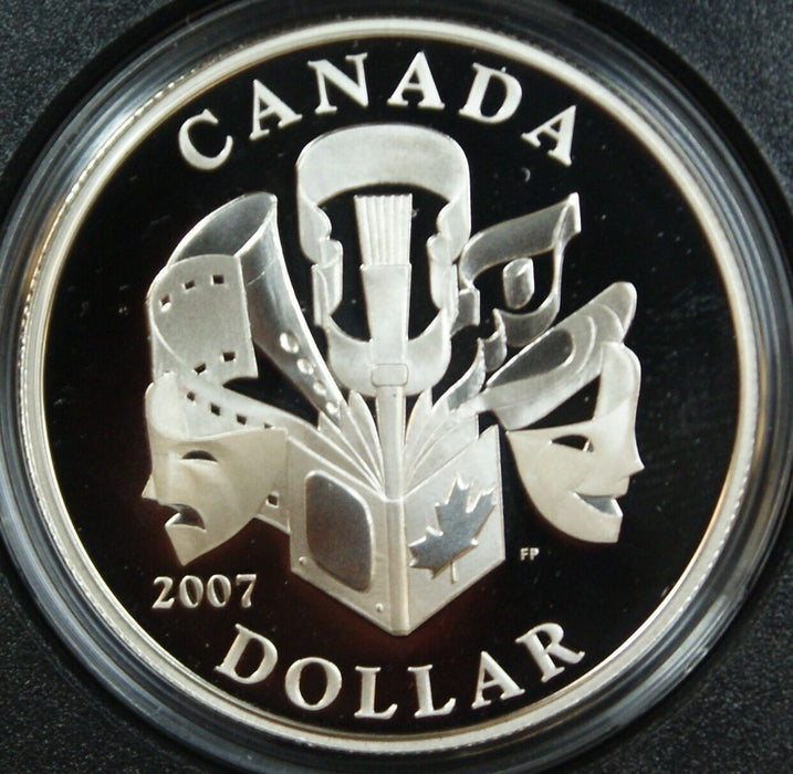 2007 Canada $1 Proof Special Edition Celebration of Performing Arts-w/Box & COA