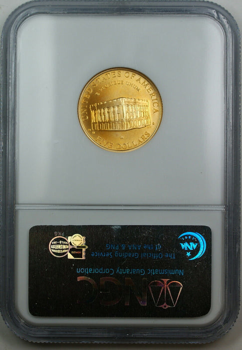 2001-W Capitol $5 Gold, NGC MS-69, Gem Commemorative Coin