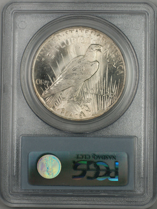 1923 Silver Peace Dollar $1 Coin PCGS MS-64 Toned (BR-12 M)