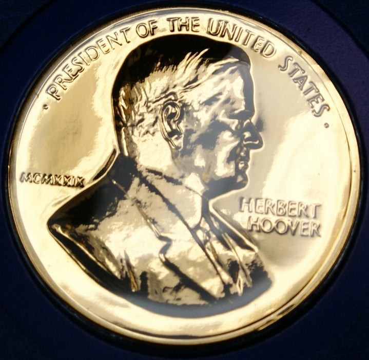 "Herbert Hoover Presidential Medal, From the ""Hail to The Chiefs"" Collection"
