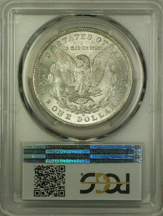 1885-O Morgan Silver Dollar $1 Coin PCGS MS-63 (5B)