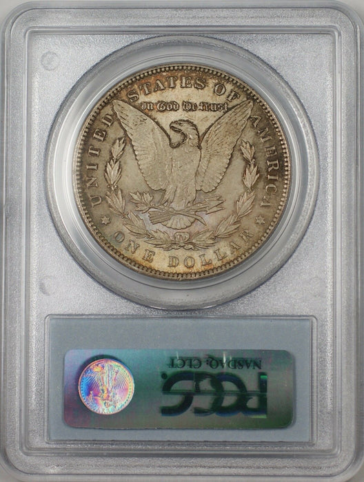 1896 Morgan Silver Dollar $1 Coin PCGS MS-63 Toned Better Coin (BR-23B)