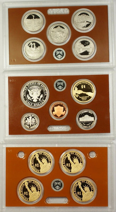 2011 US Mint 14 Coin Proof Set as Issued
