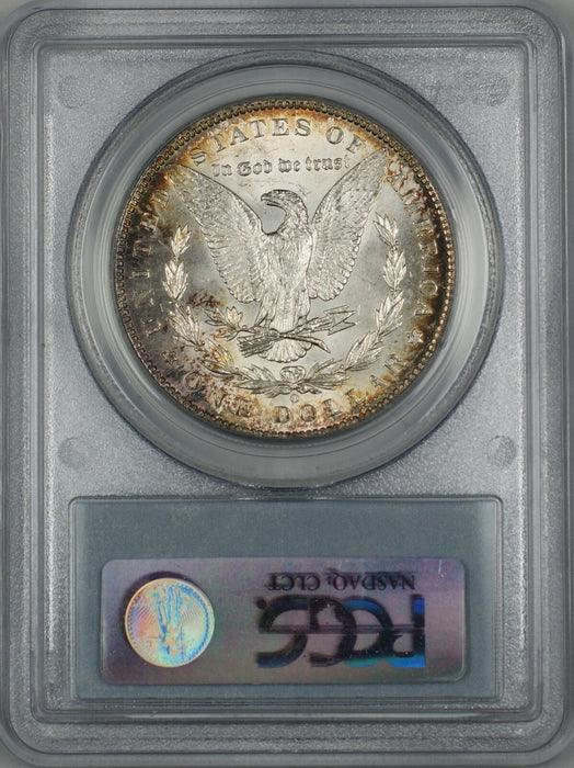 1898-O Morgan Silver Dollar $1 PCGS MS-62 Lightly Toned (Better Coin) (4F)