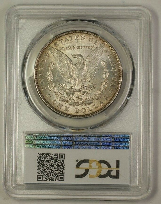 1886 US Morgan Silver Dollar Coin $1 PCGS MS-61 Nicely Toned (Better) (18)