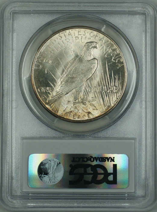 1934-D Silver Peace Dollar Coin $1 PCGS MS-62 (Better Coin) DMK