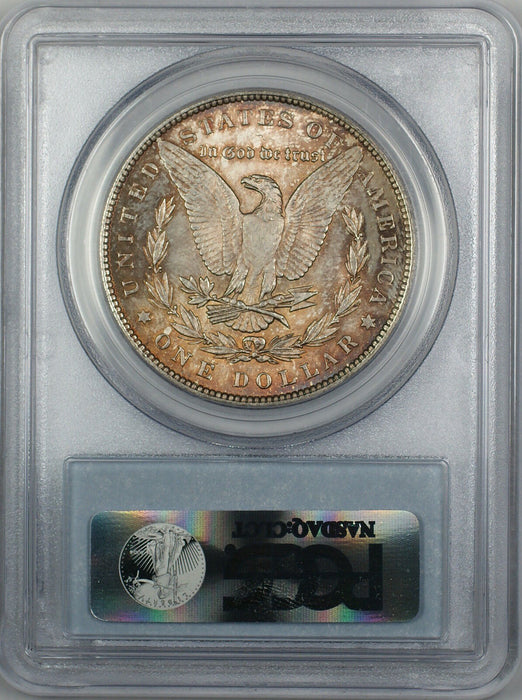 1896 Morgan Silver Dollar $1 Coin PCGS MS-62 Toned (4C)