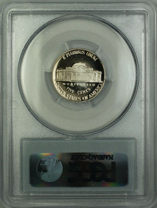1998-S Proof Jefferson Nickel 5c Coin PCGS PR-70 Deep Cameo *PERFECT GEM*