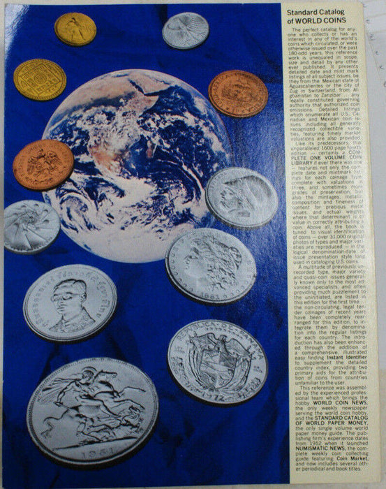 Standard Catalog of World Coins 1977 Edition