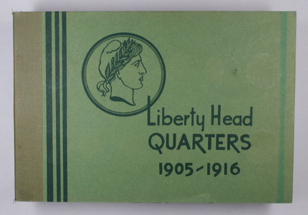 Meghrig Used Empty Coin Book Liberty Head Quarters 1905-1916