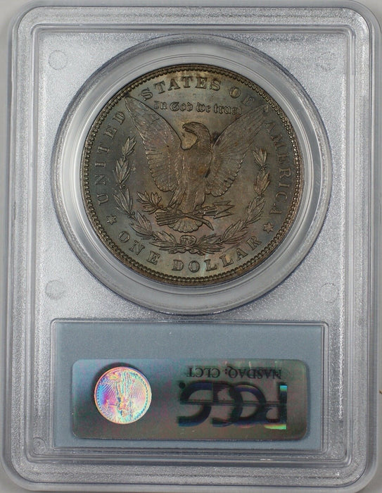 1896 Morgan Silver Dollar $1 Coin PCGS MS-63 Better Coin Toned (BR-23E)