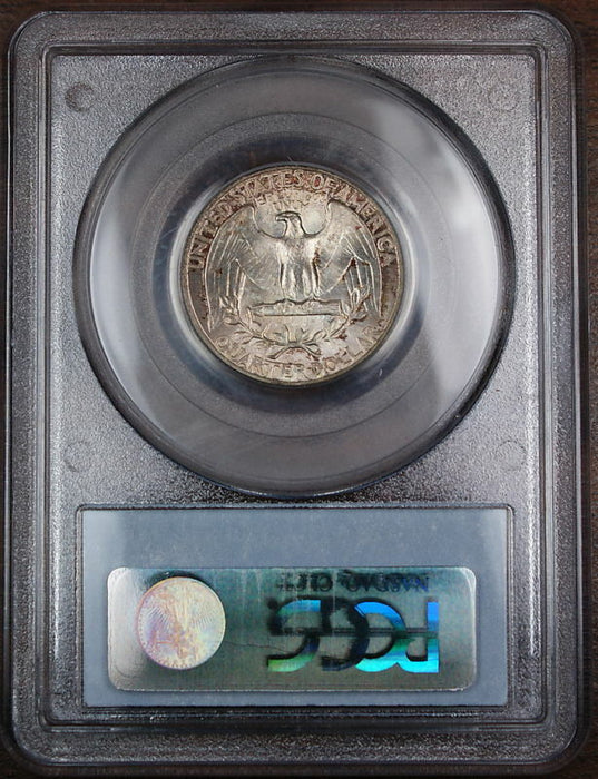 1946 Silver Washington Quarter PCGS MS-65 Lightly Toned