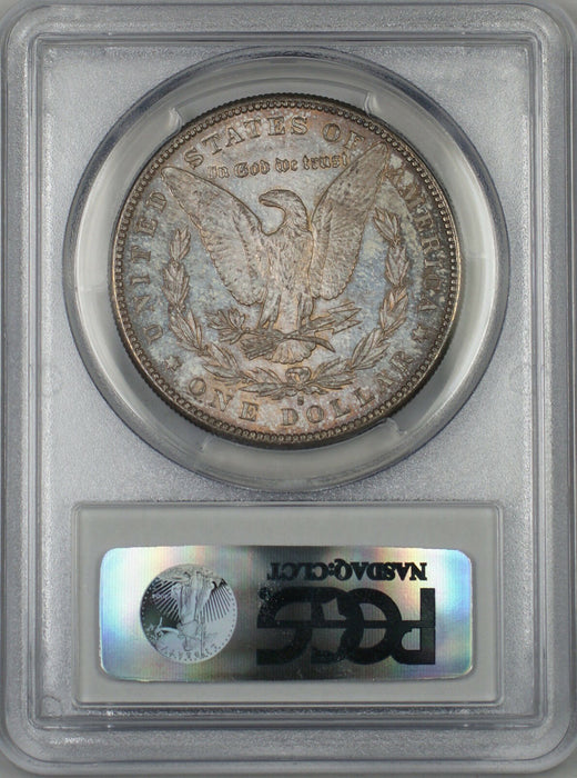 1881-S Morgan Silver Dollar $1 Coin PCGS MS-64 *Beautifully Toned* (Tb)