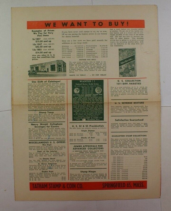 The Stamp Specialist Gray Book Published 1943 with 1944 Advertisement RSE C6