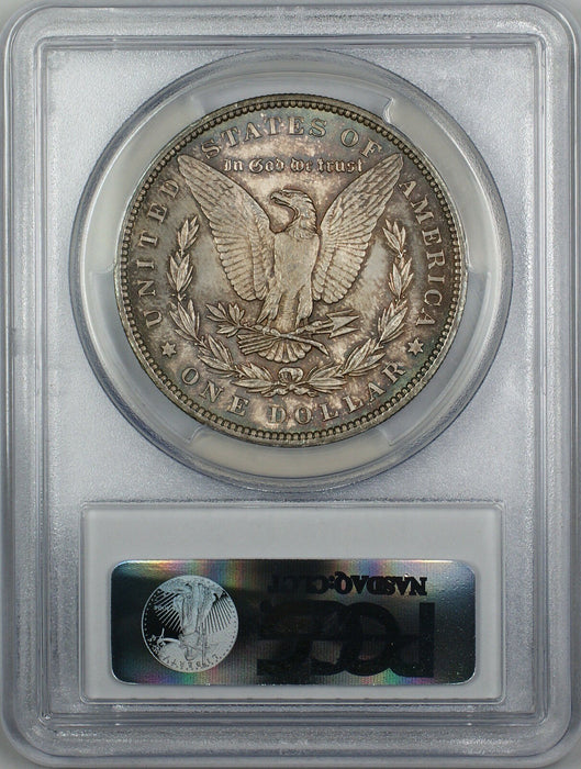 1896 Morgan Silver Dollar $1 Coin PCGS MS-64 Toned (4A)