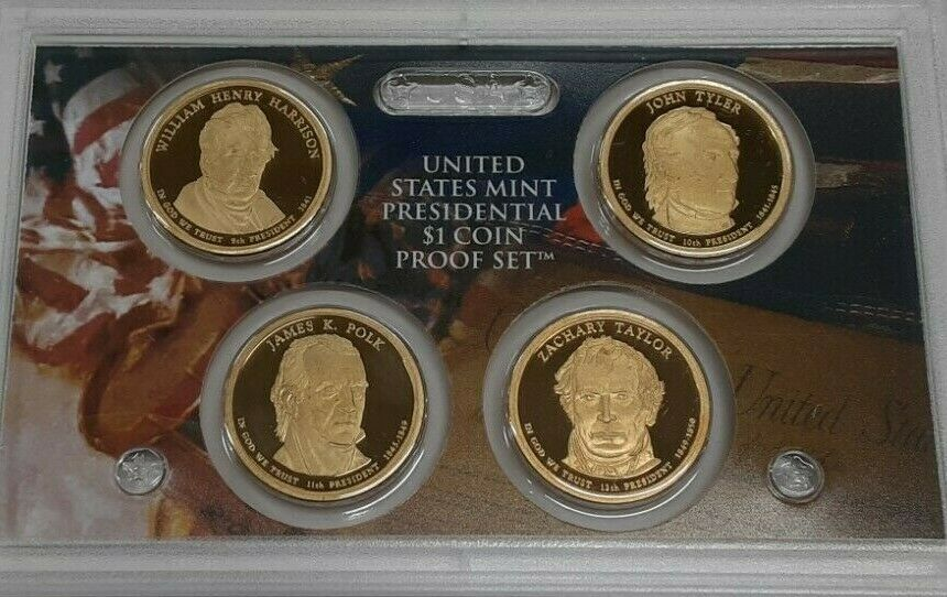 2009-S United States Presidential Proof Set With Box and COA