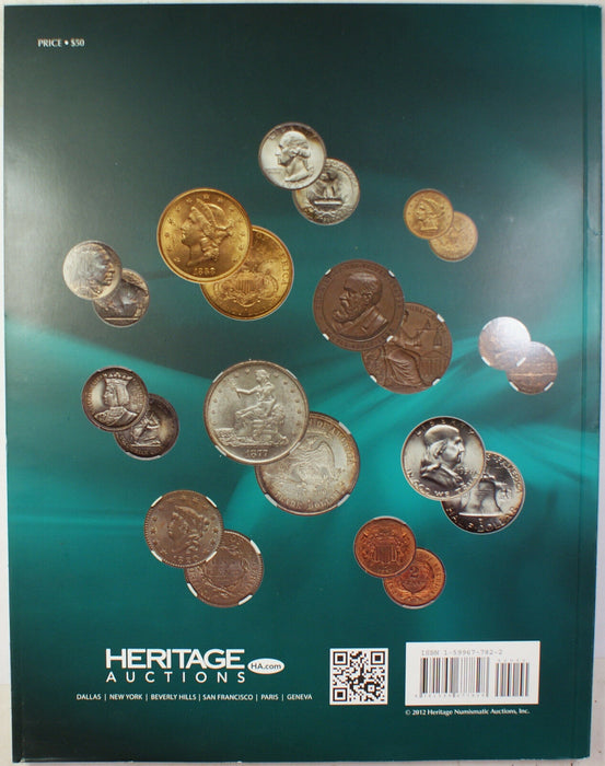 January 12-14 2013 U.S. Coin Auction Catalog #1181 Heritage (A78)